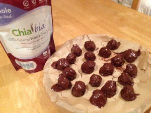 Chia seed treats for christmas