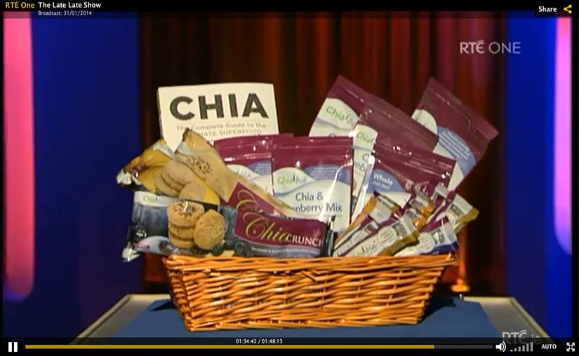 """""""Chia Crunch"""" biscuits by Chia bia"""
