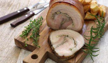 Chia Bia Apple & Thyme Stuffed Pork