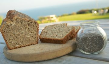 Chia Bia Brown Soda Bread