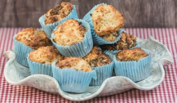 Banana and Chia Bia Muffins