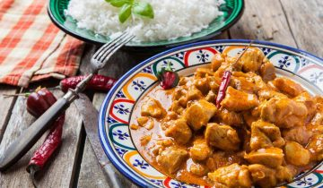 Chicken Red Curry with Chia Bia