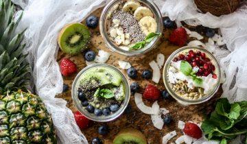 Vegan Chia Smoothie Bowls