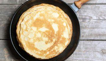 Chia Seed Flour Pancakes