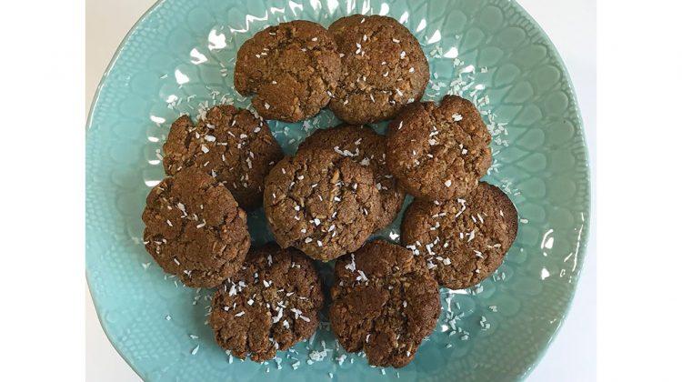 Chia Flour Coconut Cookies