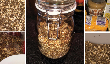 Low Sugar Seed Granola