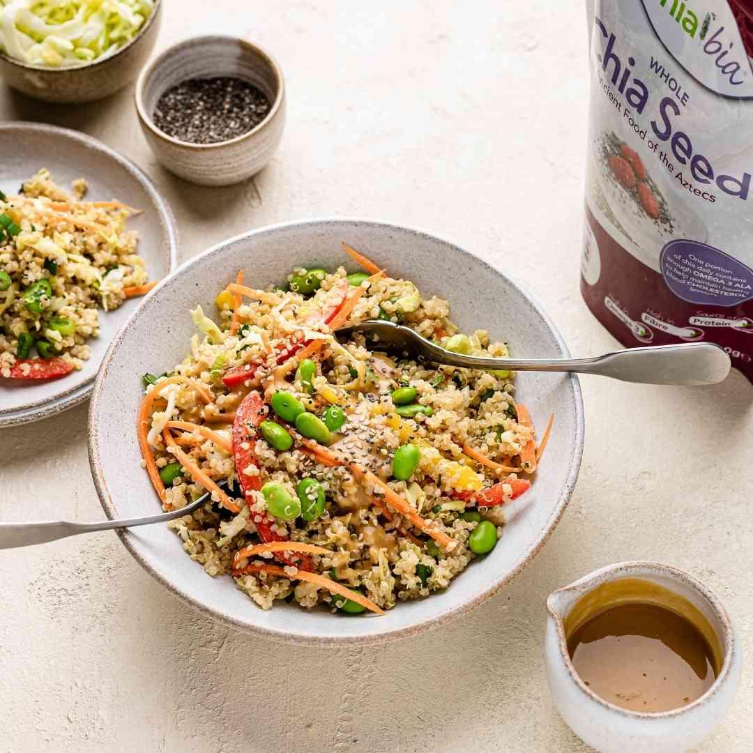 Thai Quinoa Chia Salad