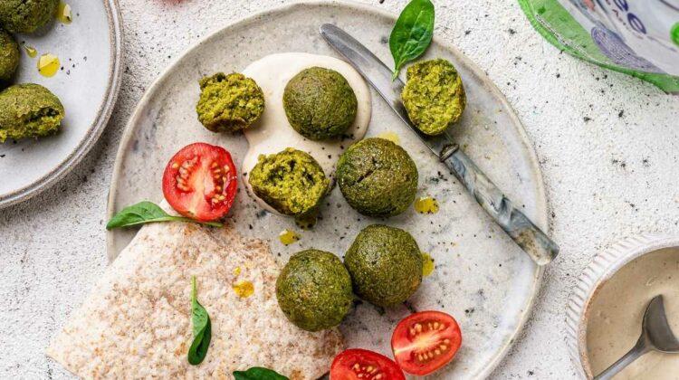 Herby Pea & Chia Falafel
