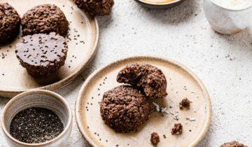No-Bake Chocolate Macaroon Chia Cookies
